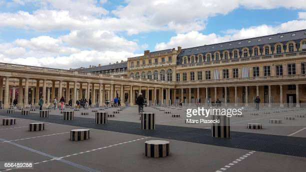 A general view at the Palais Royal on March 22 2017 in Paris France