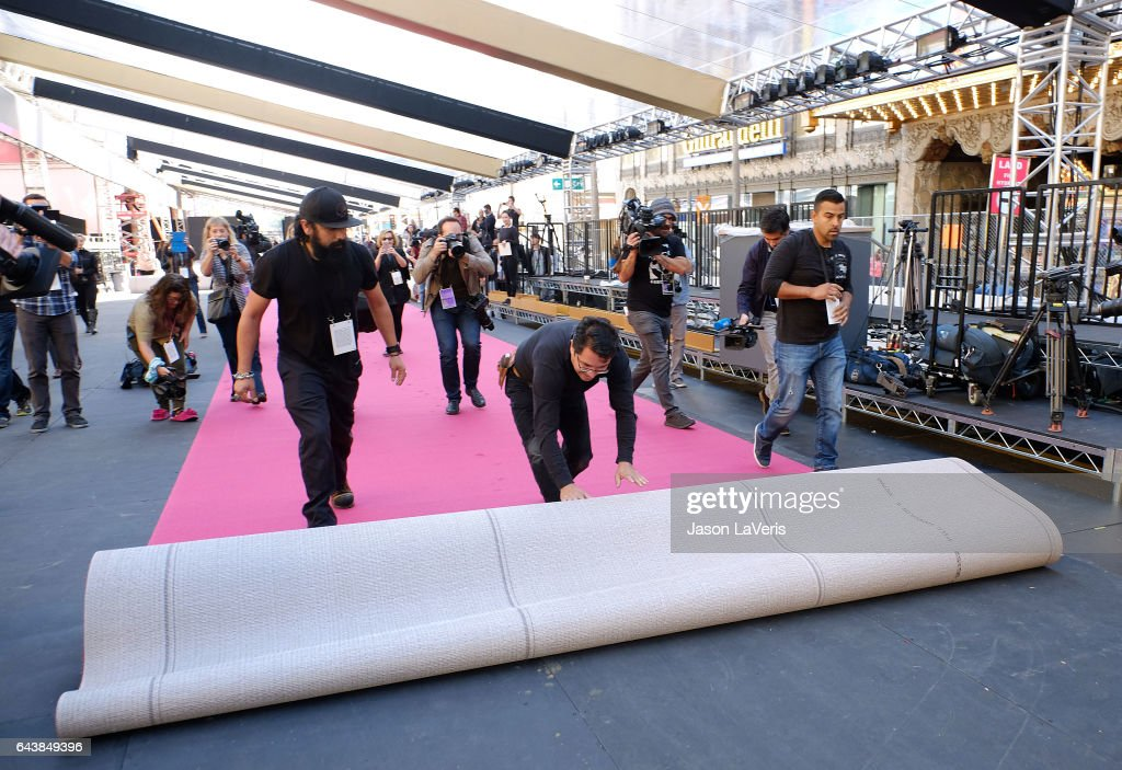 Preparations continue for the 89th Annual Academy Awards