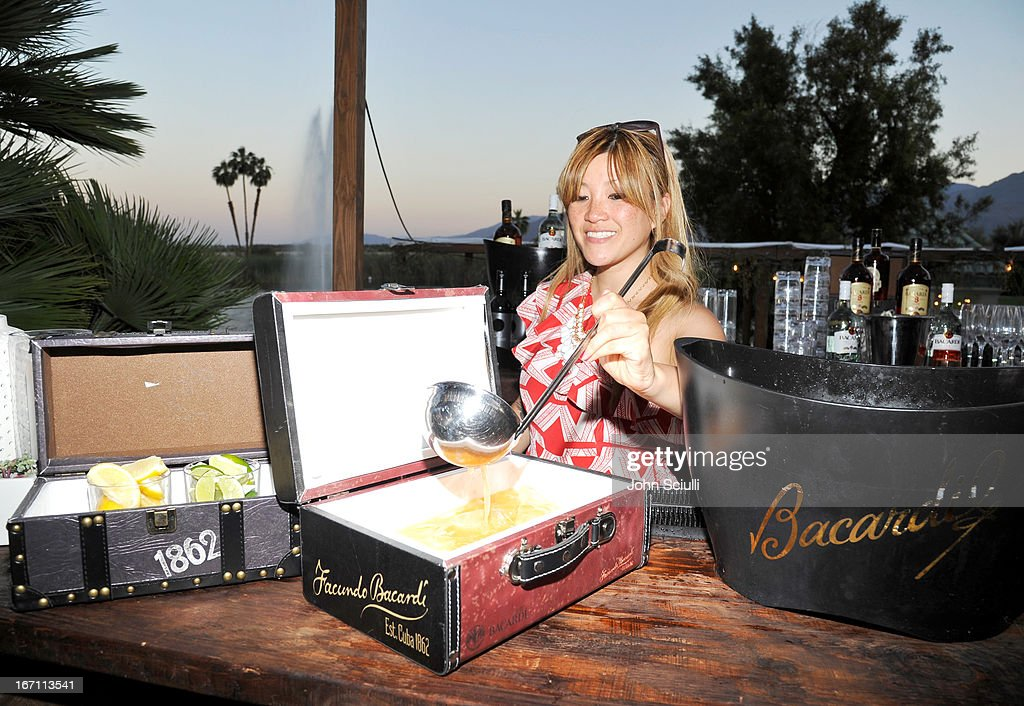 A general view at the Soho House Pop Up with Bacardi during Coachella 2013 at Merv Griffin Estate on April 20, 2013 in La Quinta, California.