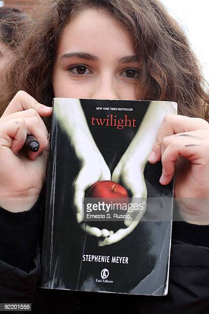 A general view at the 'The Twilight Saga New Moon' Premiere during Day 8 of the 4th International Rome Film Festival held at the Auditorium Parco...