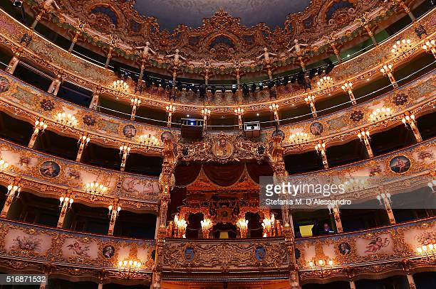 General view at the Tiffany Co New Store Opening Gala at La Fenice Theater on March 21 2016 in Venice Italy
