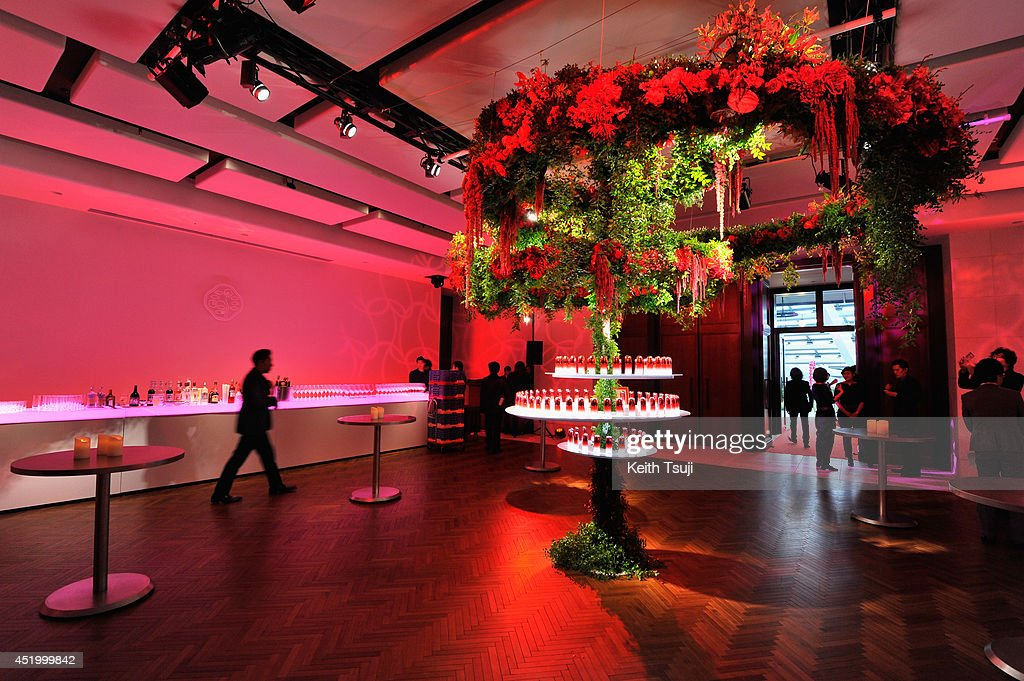 A general view at The ULTIMUNE Evening - SHISEIDO ULTIMUNE Launch Party, an event to unveil ULTIMUNE Power Infusing Concentrate at ANdAZ Tokyo Toranomon Hills on July 10, 2014 in Tokyo, Japan.