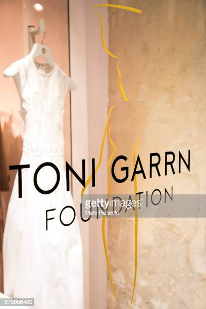 A general view at the 'Vestiaire Collective x Toni Garrn' charity sale to benefit TGarrn Foundation Popup store on November 16 2017 in Paris France