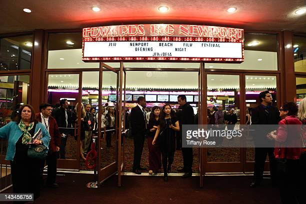 A general view at the World Premiere of 'Jewtopia' at the Newport Beach Film Festival at Edwards Big Newport 300 on April 26 2012 in Newport Beach...