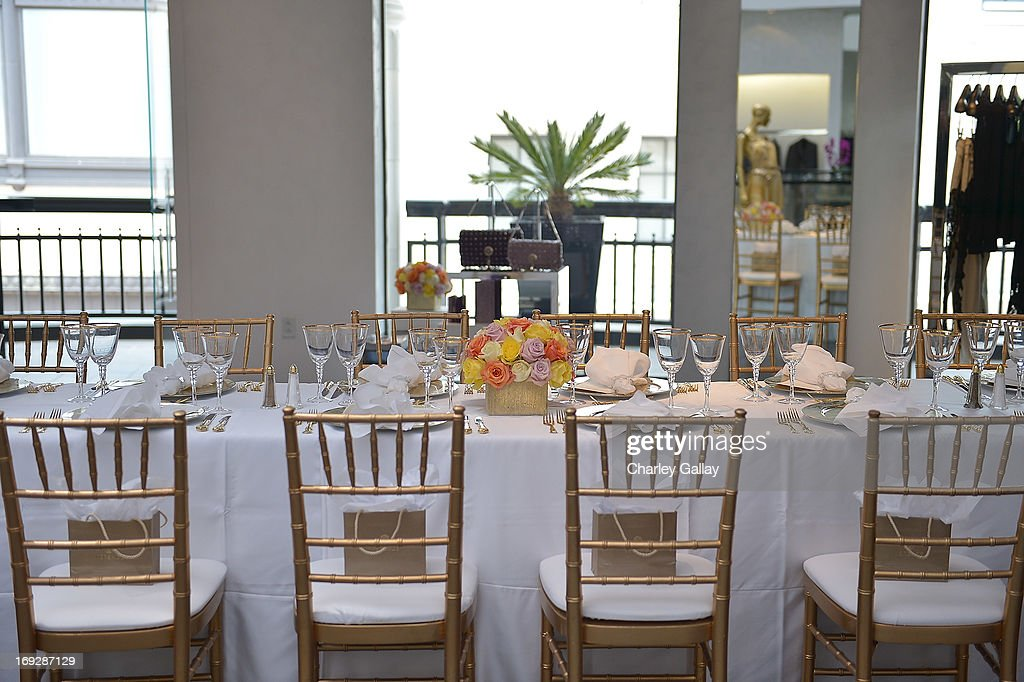 A general view at Versace, Vanity Fair, And Elizabeth Banks Luncheon Benefitting Vital Voices Global Partnership at Versace on May 22, 2013 in Beverly Hills, California.