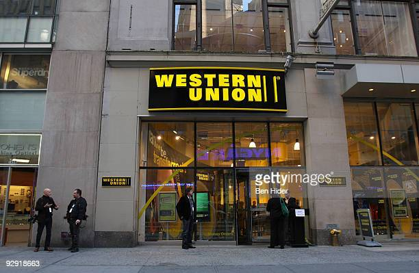 A general view at Western Union Times Square on November 9 2009 in New York City