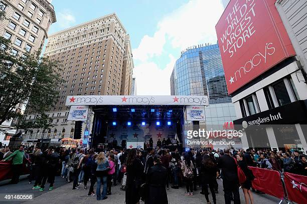 General view at Z100's Jingle Ball Presented by Capital One Official Kick Off Event at Macy's Herald Square on October 5 2015 in New York City