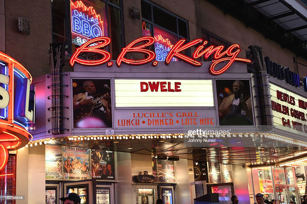 A general view atmosphere at B.B. King Blues Club & Grill on May 22, 2013 in New York City.