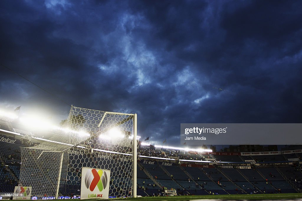 General view Azul Stadium prior to a match between Cruz Azul and Leon as part of the Apertura 2012 Liga MX at Azul Stadium on November 14, 2012 in Mexico City, Mexico.