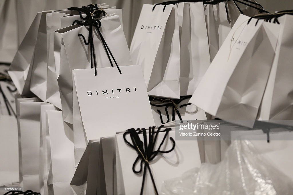 A general view backstage ahead of the Dimitri show during Mercedes-Benz Fashion Week Spring/Summer 2014 at Brandenburg Gate on July 3, 2013 in Berlin, Germany.