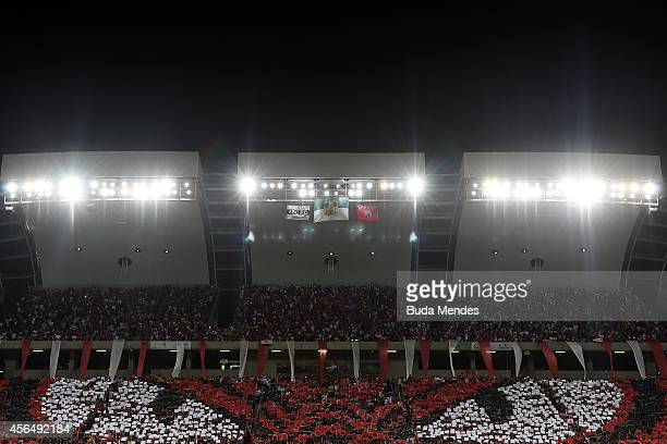 General view before a match between Flamengo and America RN as part of Copa do Brasil 2014 at Arena das Dunas on October 01 2014 in Natal Brazil