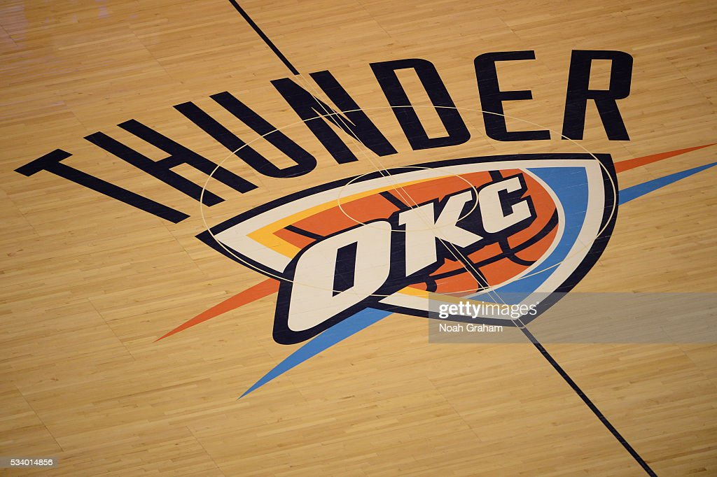 A general view before Game Four of the Western Conference Finals between the Golden State Warriors and Oklahoma City Thunder during the 2016 NBA Playoffs on May 24, 2016 at Chesapeake Energy Arena in Oklahoma City, Oklahoma.