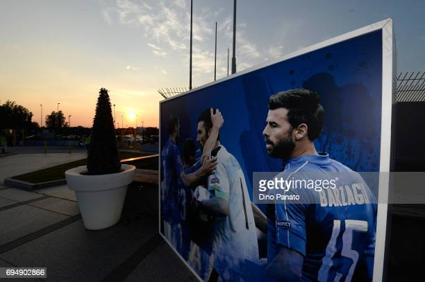 A general view before the FIFA 2018 World Cup Qualifier between Italy and Liechtenstein at Stadio Friuli on June 11 2017 in Udine Italy