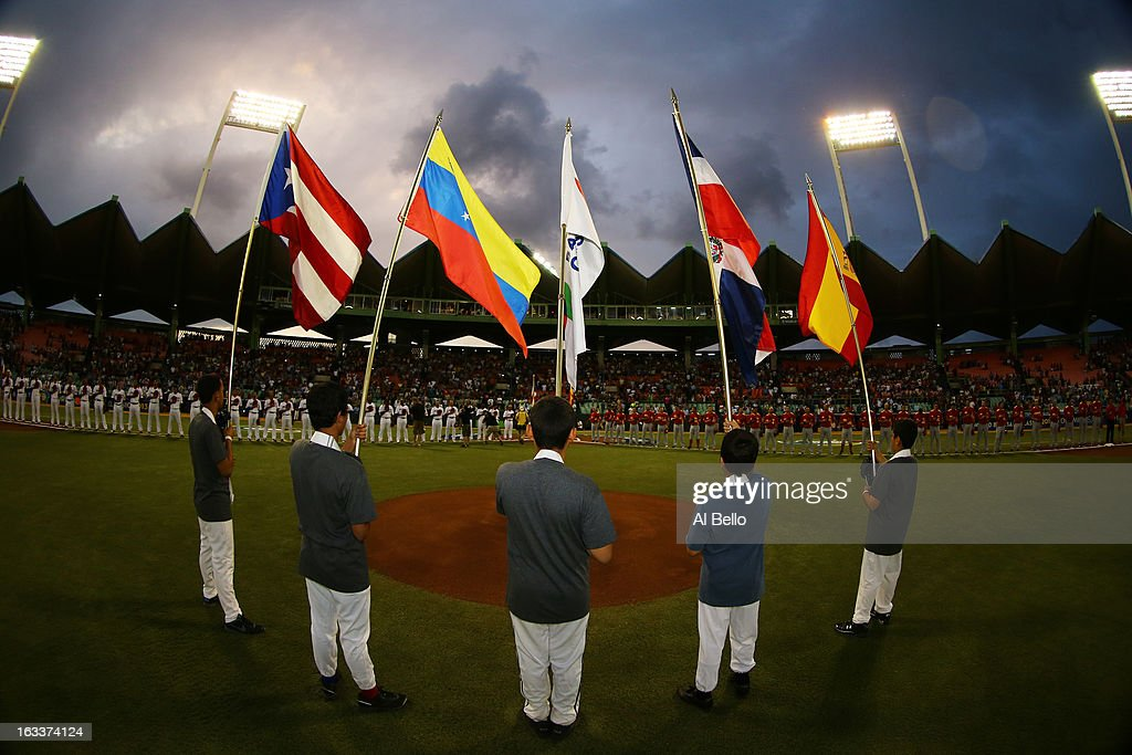 A general view before the game between Puerto Rico against Spain during the first round of the World Baseball Classic at Hiram Bithorn Stadium on March 8, 2013 in San Juan, Puerto Rico.