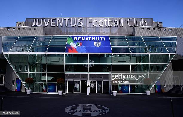 A general view before the international friendly match between Italy and England at Juventus Arena on March 31 2015 in Turin Italy