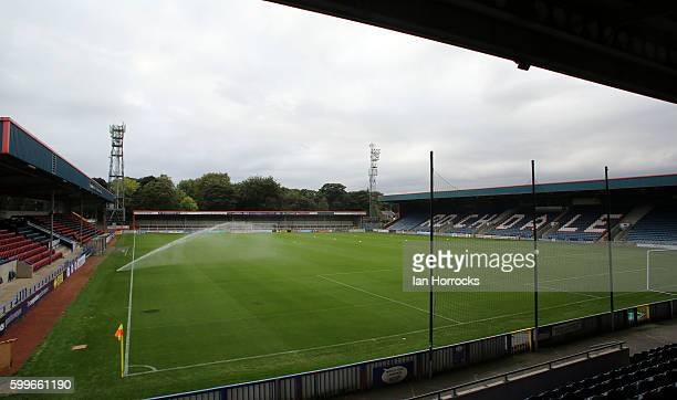 A general view before the U23 EFL Checkertrade Trophy Group F match between Rochdale and Sunderland U23 at Spotland Stadium on September 6 2016 in...
