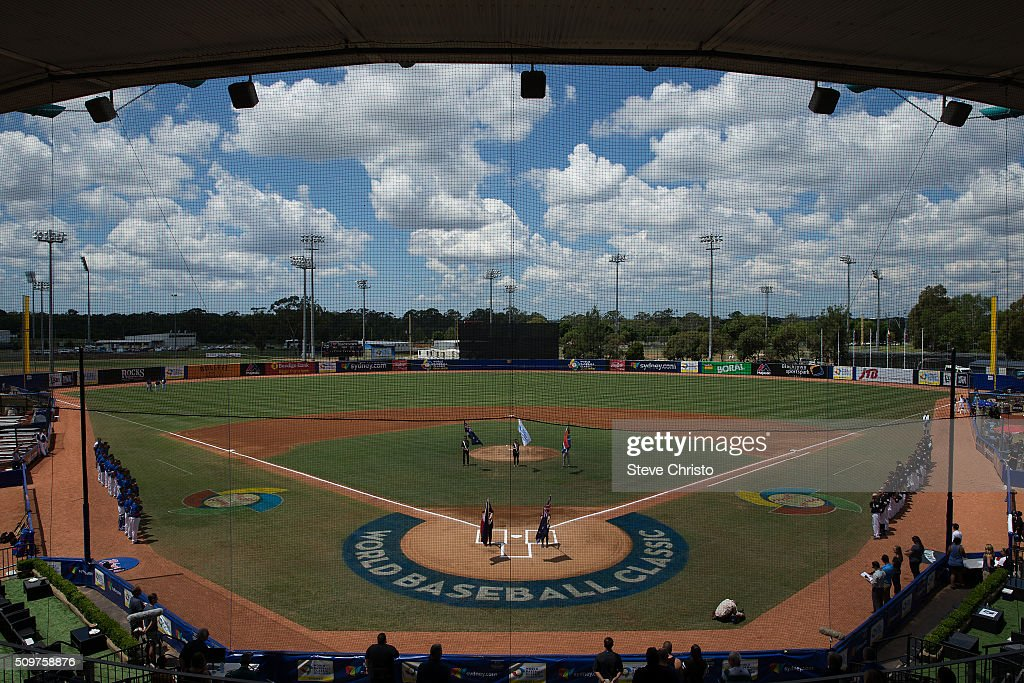A general view Blacktown International Sports park during Game 3 of the World Baseball Classic Qualifier between Team Philippines and Team New Zealand at Blacktown International Sportspark on Friday, February 12, 2016 in Sydney, Australia.