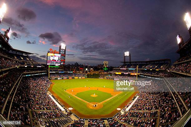 A general view Citizens Bank park during the game between the Pittsburgh Pirates and Philadelphia Phillies on September 8 2014 at Citizens Bank Park...