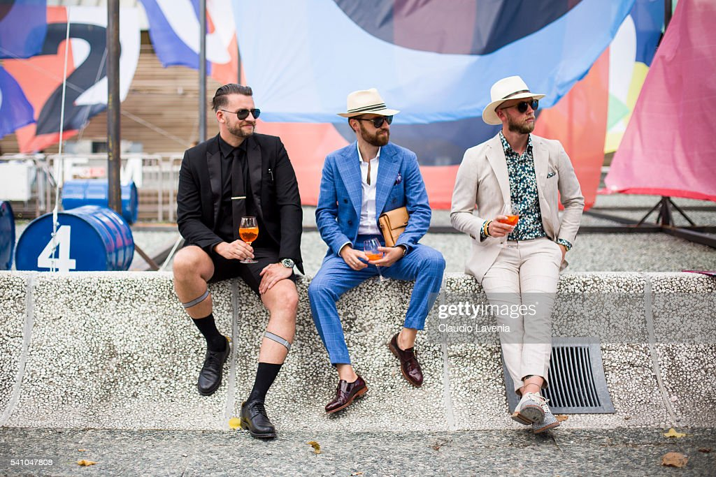 General view during 90. Pitti Immagine Uomo on June 14, 2016 in Florence, Italy.