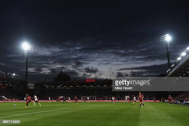 A general view during a preseason friendly between Bournemouth and Valencia at the Vitality Stadium on August 3 2016 in Bournemouth England