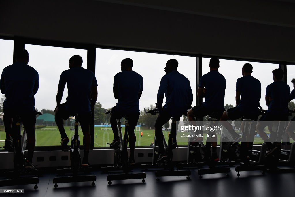 General view during a training session at Suning Training Center at Appiano Gentile on September 14, 2017 in Como, Italy.