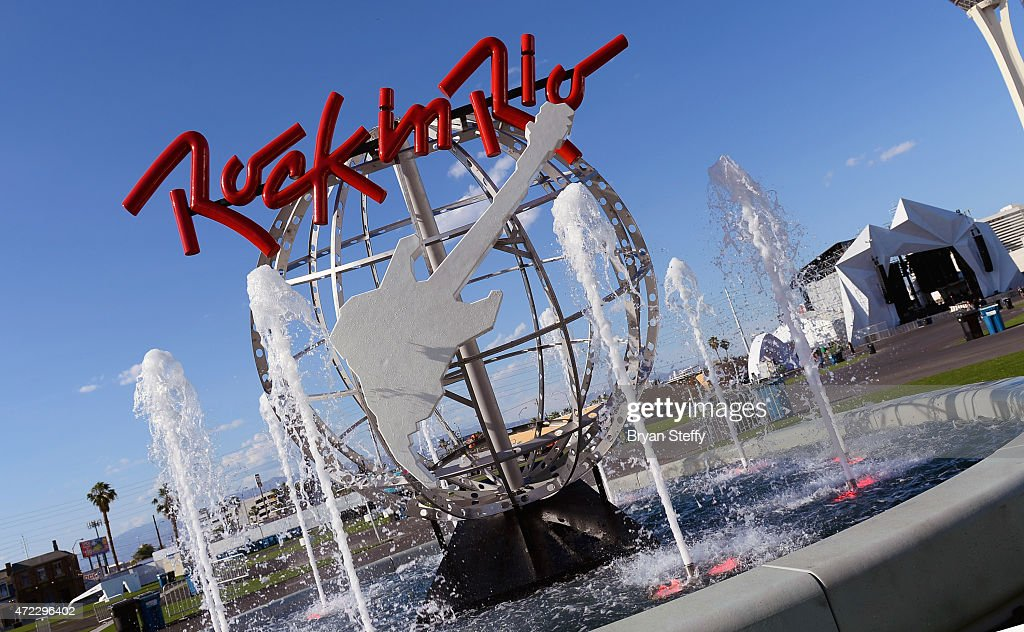 General view during an exclusive preview of rock in rio s city of