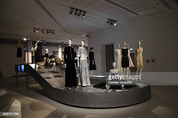 General View during attends the Bulgari Gala Dinner Exhibition at Maxxi Museum on November 29 2014 in Rome Italy