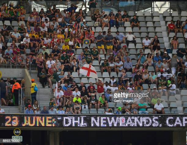 General view during day 2 of the 2017 HSBC Cape Town Sevens match between England and New Zealand at Cape Town Stadium on December 10 2017 in Cape...