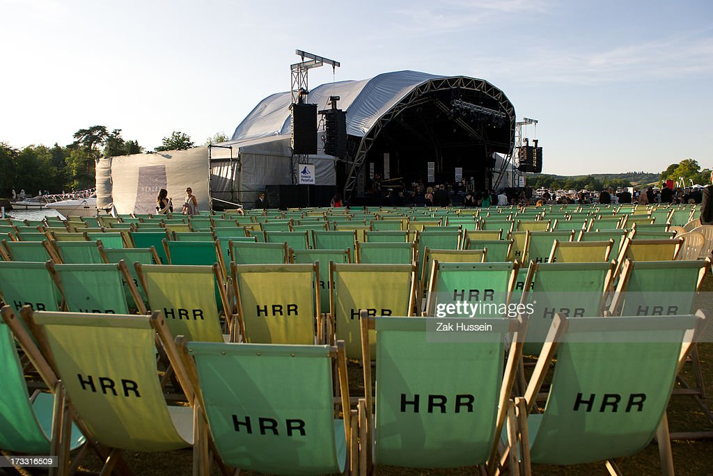 General view during Day 2 of The Henley Festival on July 11 2013 in HenleyonThames England