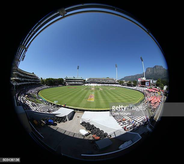 A general view during day 4 of the 2nd Test match between South Africa and England at PPC Newlands on January 05 2016 in Cape Town South Africa