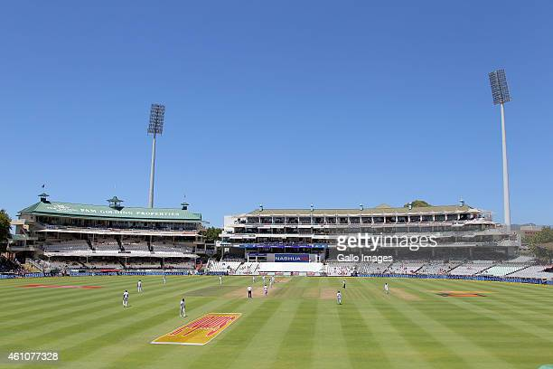 A general view during day 5 of the 3rd Test between South Africa and West Indies at Sahara Park Newlands on January 06 2015 in Cape Town South Africa