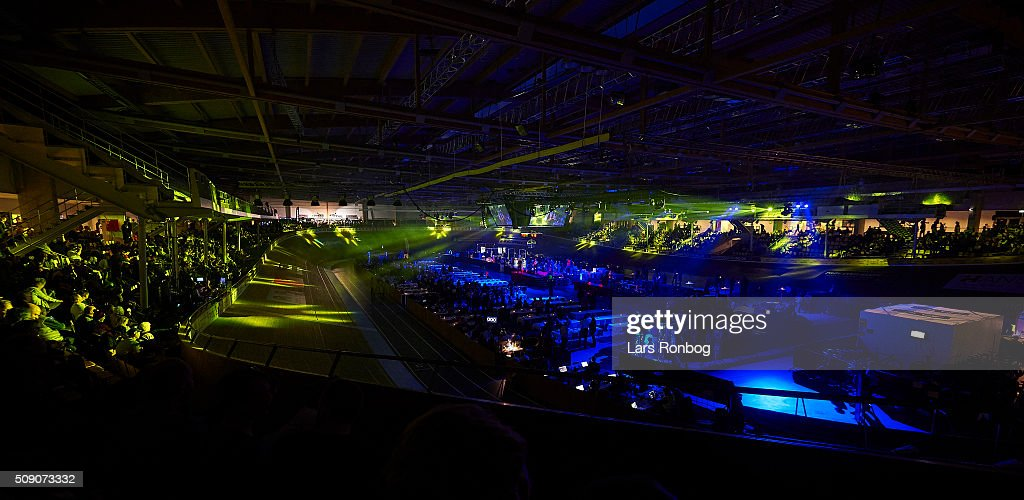 General view during day five at the Copenhagen Six Days Race Cycling at Ballerup Super Arena on February 8, 2016 in Ballerup, Denmark.