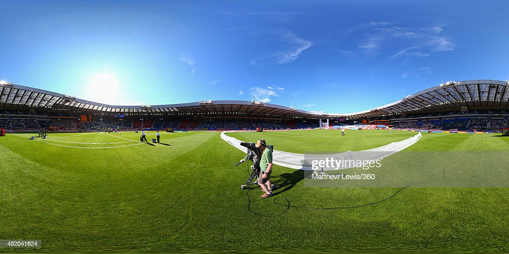 A general view during day one of the Diamond League Sainsbury's Glasgow Grand Prix at Hampden Park on July 11, 2014 in Glasgow, Scotland. Hampden Park is one of the venues being used for the upcoming Commonwealth Games later this month.