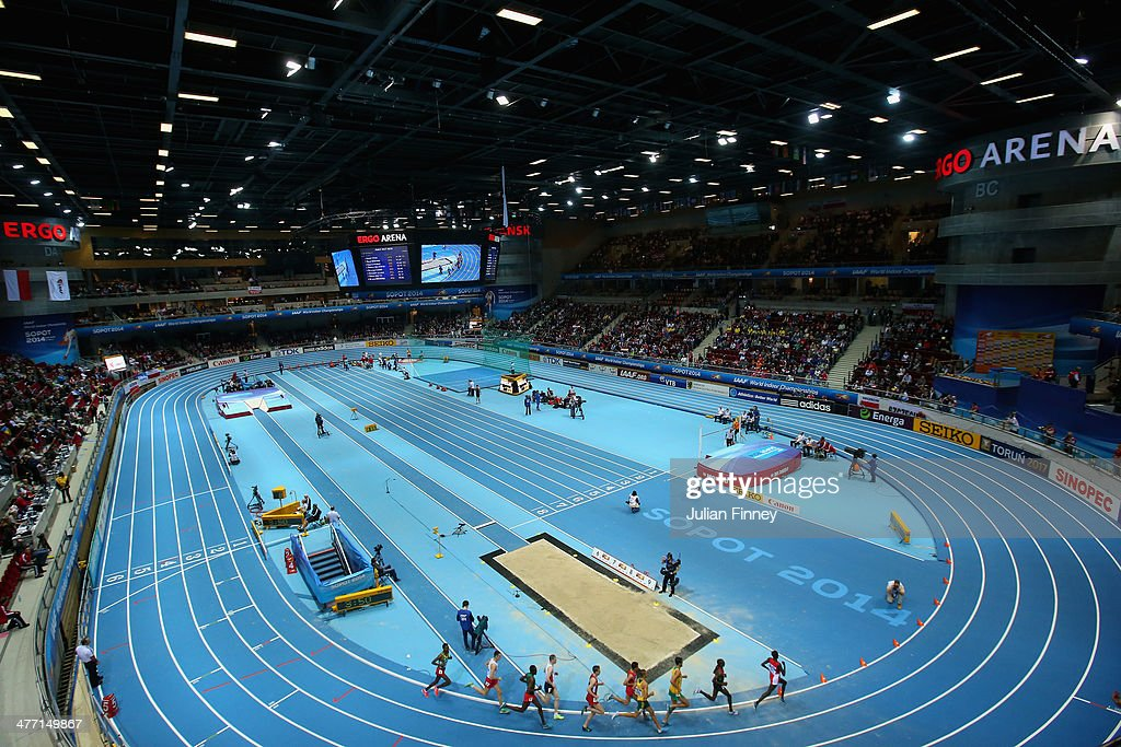 A general view during day one of the IAAF World Indoor Championships at Ergo Arena on March 7, 2014 in Sopot, Poland.