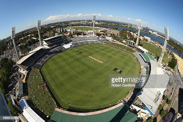 A general view during day one of the second Test match between Australia and New Zealand at the WACA on November 13 2015 in Perth Australia