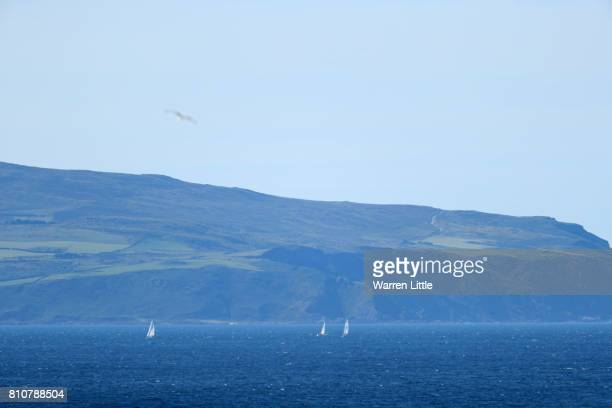 General View during day three of the Dubai Duty Free Irish Open at Portstewart Golf Club on July 8 2017 in Londonderry Northern Ireland