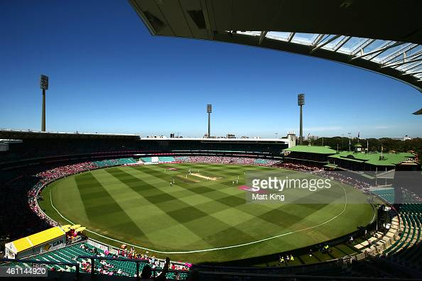 A general view during day three of the Fourth Test match between Australia and India at Sydney Cricket Ground on January 8 2015 in Sydney Australia