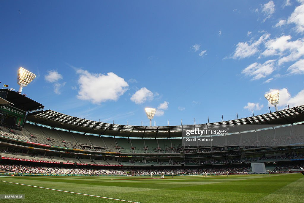 A general view during day three of the Second Test match between Australia and Sri Lanka at Melbourne Cricket Ground on December 28, 2012 in Melbourne, Australia.