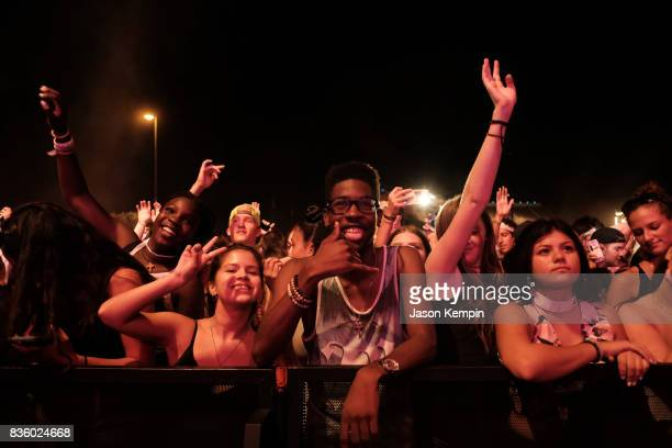 General view during Day Two of 2017 Billboard Hot 100 Festival at Northwell Health at Jones Beach Theater on August 20 2017 in Wantagh City
