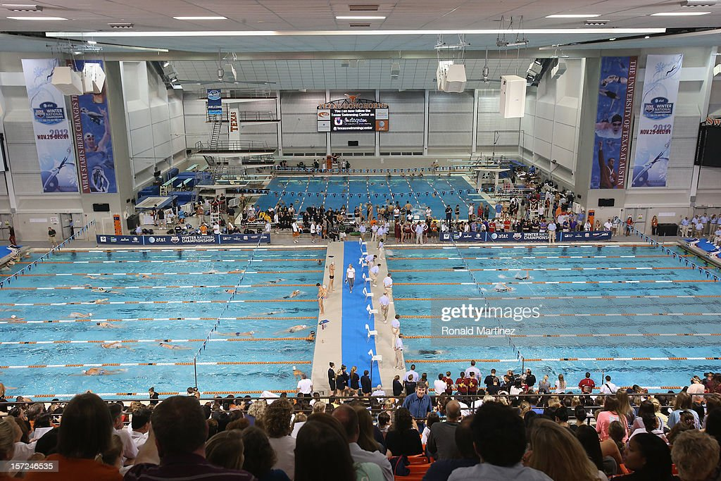 A general view during day two of the 2012 AT&T Winter National Championships on November 30, 2012 at the Lee and Joe Jamail Texas Swimming Center in Austin, Texas.