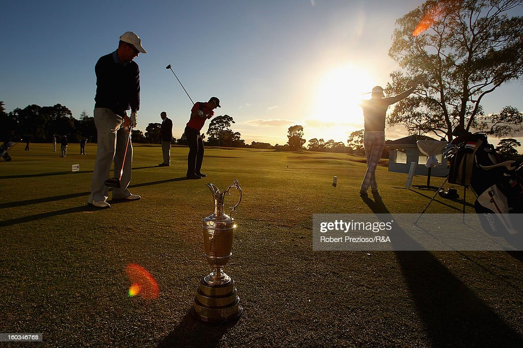 A general view during day two of the British Open International Final Qualifying Australasia at Kingston Heath Golf Club on January 30, 2013 in Melbourne, Australia.