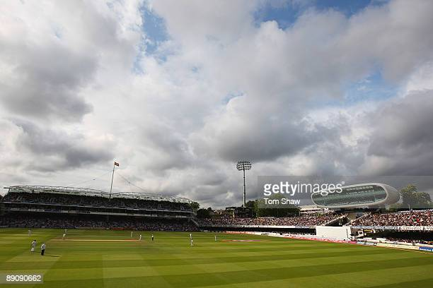 A general view during day two of the npower 2nd Ashes Test Match between England and Australia at Lord's on July 17 2009 in London England