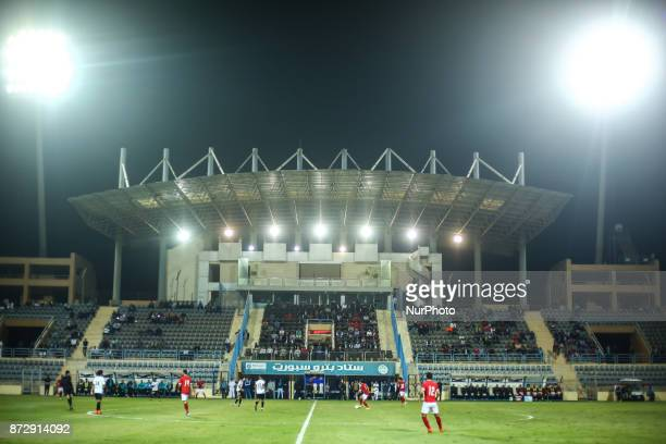General view during Egypt Cup 32th Round match between AlAhly and Beni Suef at Cairo Stadium in Cairo Egypt on 10 November 2017 AlAhly beat Beni Suef...
