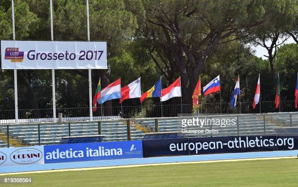 General view during European Athletics U20 Championships on July 20 2017 in Grosseto Italy