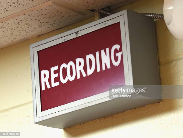 General View during Grammy Nominated Producer Dave Cobb showcases tracks from 'Southern Family' At RCA Studio B on January 19 2016 in Nashville...