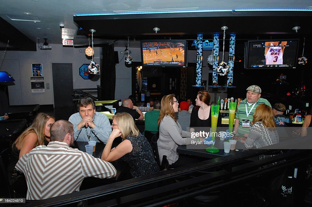 A general view during happy hour at db's Pong & Pool Hall at Planet Hollywood Hotel & Casino during the 28th annual Nightclub & Bar Convention and Trade Show on March 20, 2013 in Las Vegas, Nevada.