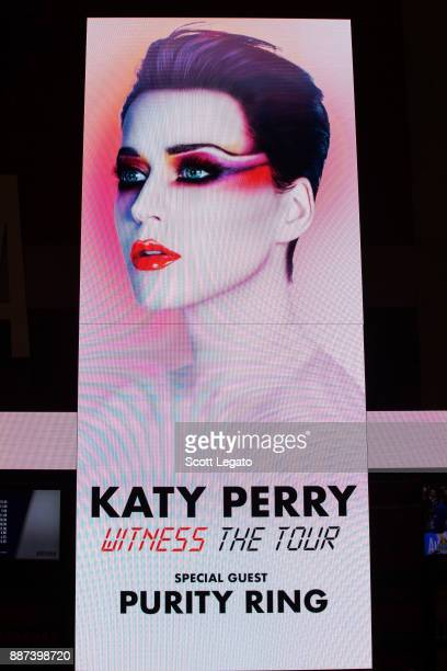 General view during Katy Perry's 'Witness The Tour' at Little Caesars Arena on December 6 2017 in Detroit Michigan