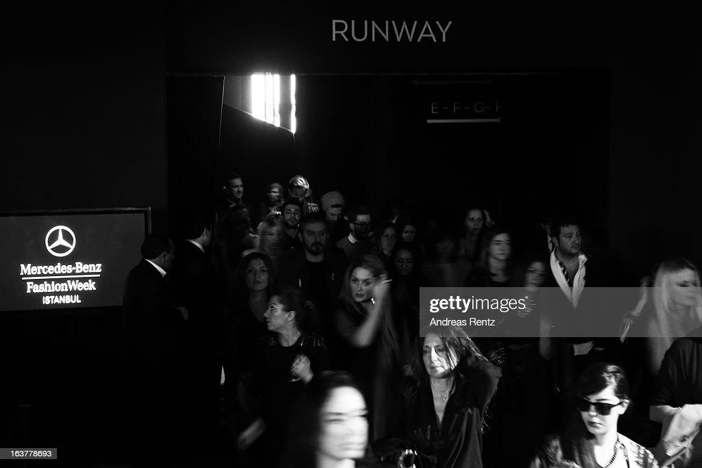 A general view during Mercedes-Benz Fashion Week Istanbul Fall/Winter 2013/14 at Antrepo 3 on March 15, 2013 in Istanbul, Turkey.