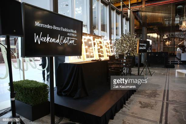 A general view during MercedesBenz Fashion Week Weekend Edition at Carriageworks on May 20 2017 in Sydney Australia