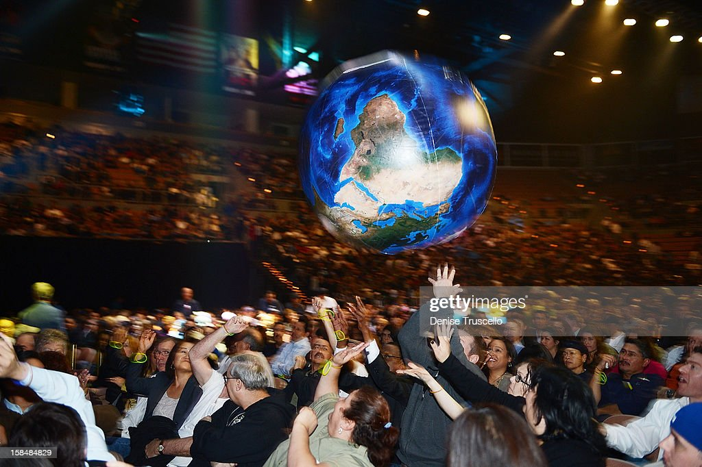 A general view during MGM Resorts International presentation of 'Inspiring Our World' at Mandalay Bay on December 17, 2012 in Las Vegas, Nevada.